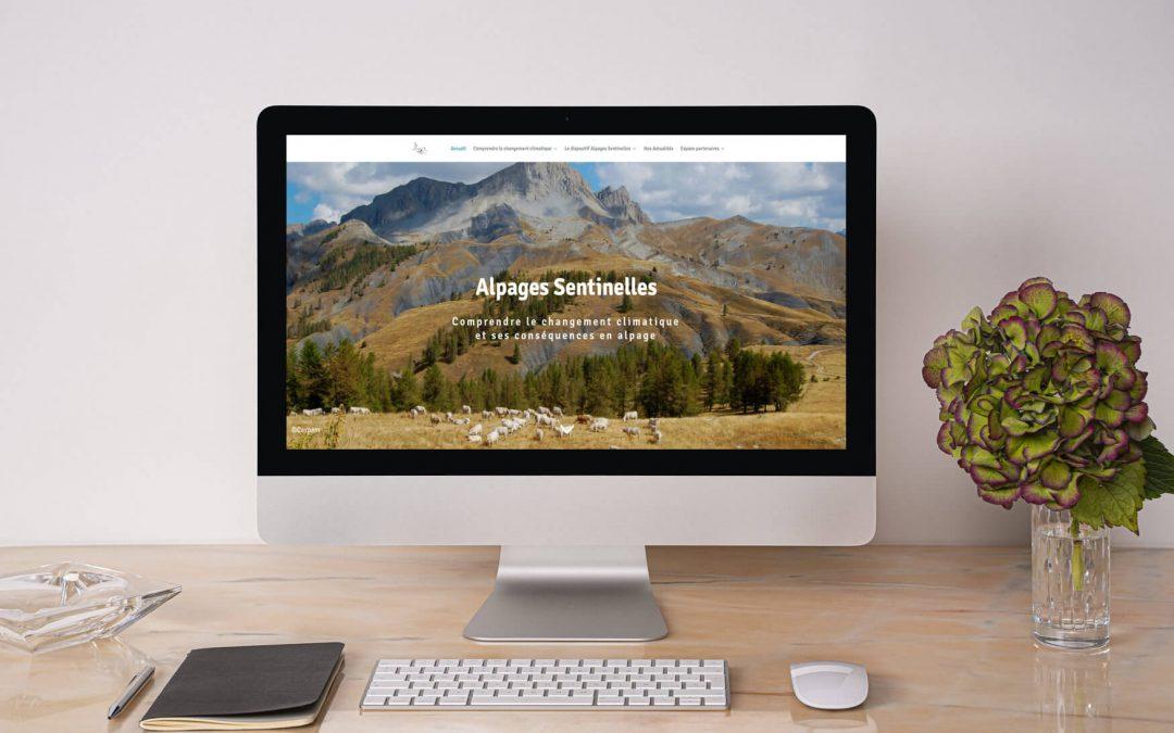 Un nouveau site web pour « Alpages Sentinelles » !