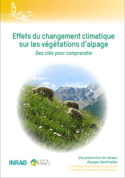 Effets du changement climatique sur les végétations d'alpages – Une nouvelle brochure Alpages Sentinelles est disponible !